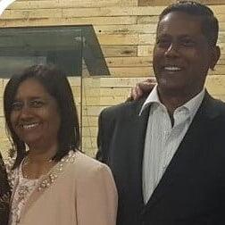 Jay and Indrani Perumal